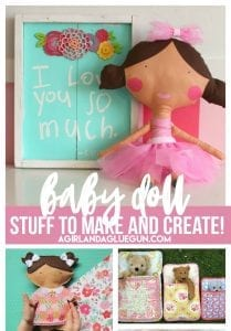 Doll Lover roundup! Stuff to buy make and create!