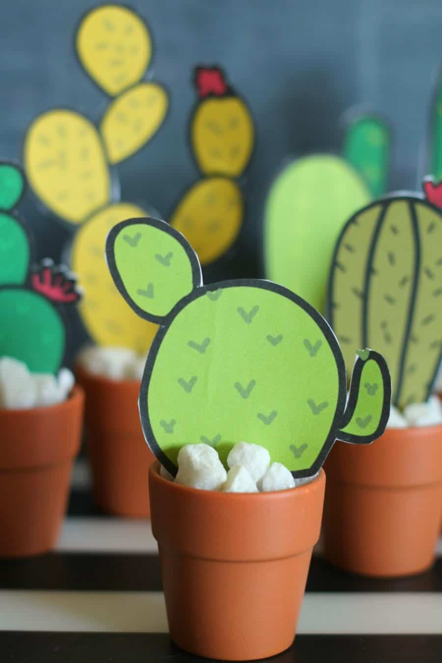 photograph relating to Cactus Printable referred to as Cactus printables - A female and a glue gun