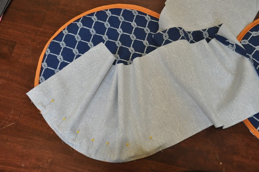 how to make a chair bag