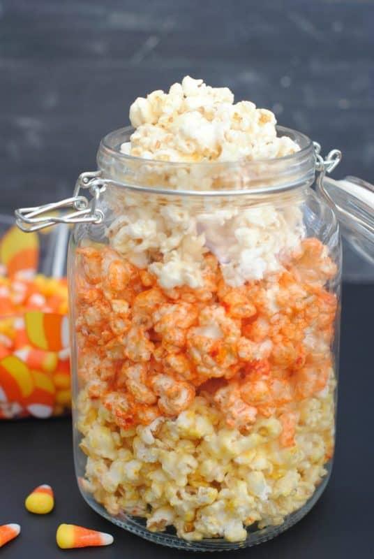 Halloween Popcorn A Girl And A Glue Gun