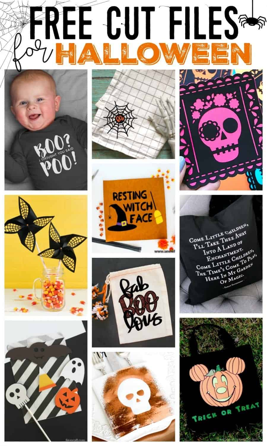 free cut file for Halloween