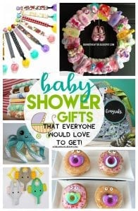 Baby shower gift roundups
