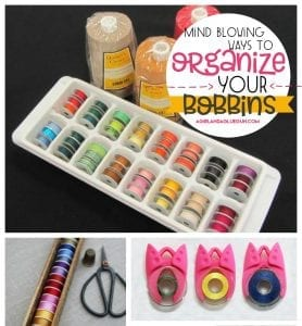 How to organize your bobbin!