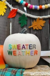 Letterboard Pumpkins and fall decorating ideas!