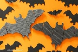 Mod podged Bat decor
