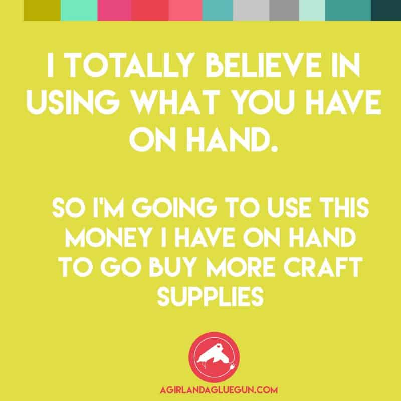 Crafts Memes Round 5 A Girl And A Glue Gun