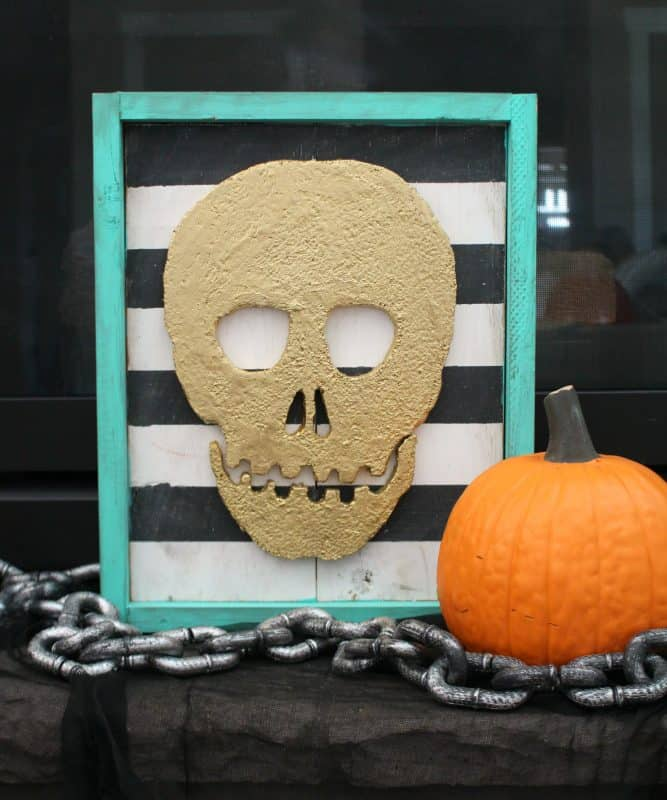 Skull Frame And How To Cut Foam A Girl And A Glue Gun