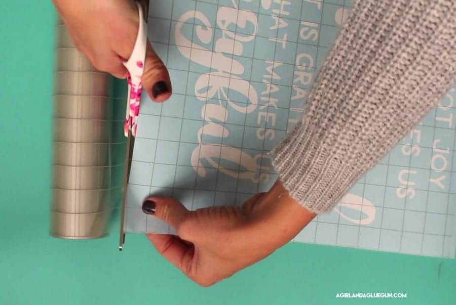 How To Use Transfer Tape With Vinyl A Girl And A Glue Gun - Transfer tape for vinyl decals