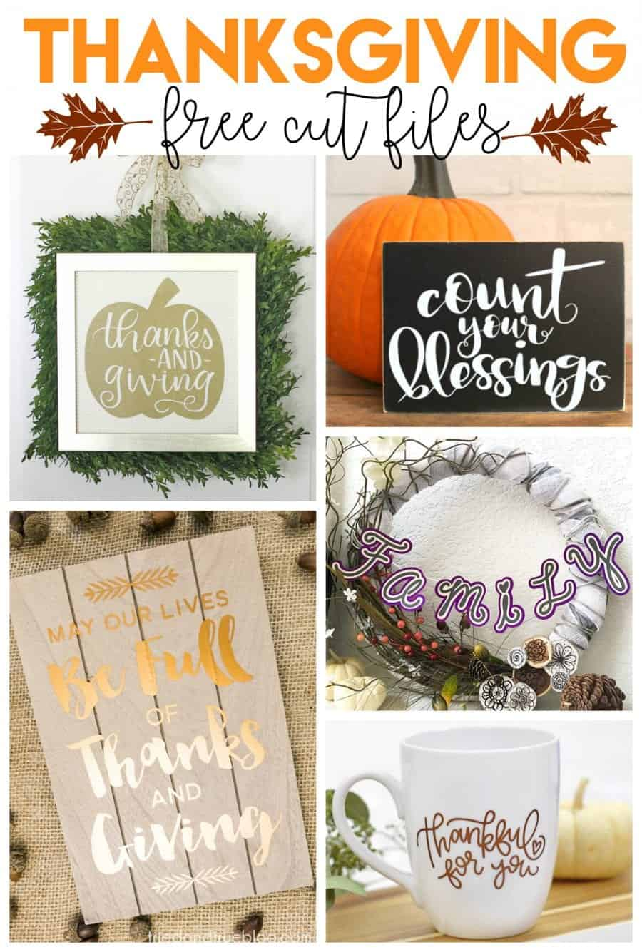 Thanksgiving Wall Art Free File