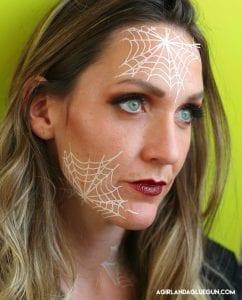 Spiderweb tattoos