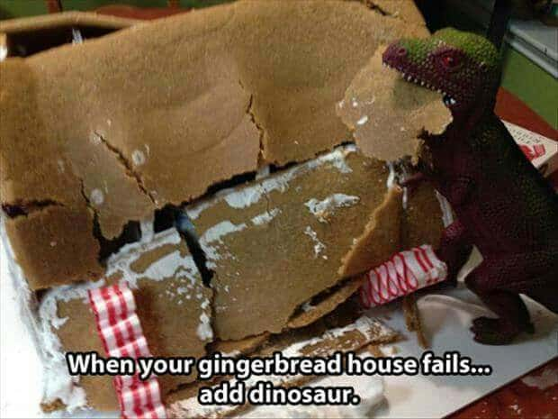 Gingerbread House Hacks A Girl And A Glue Gun