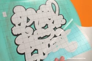 How to layer adhesive vinyl