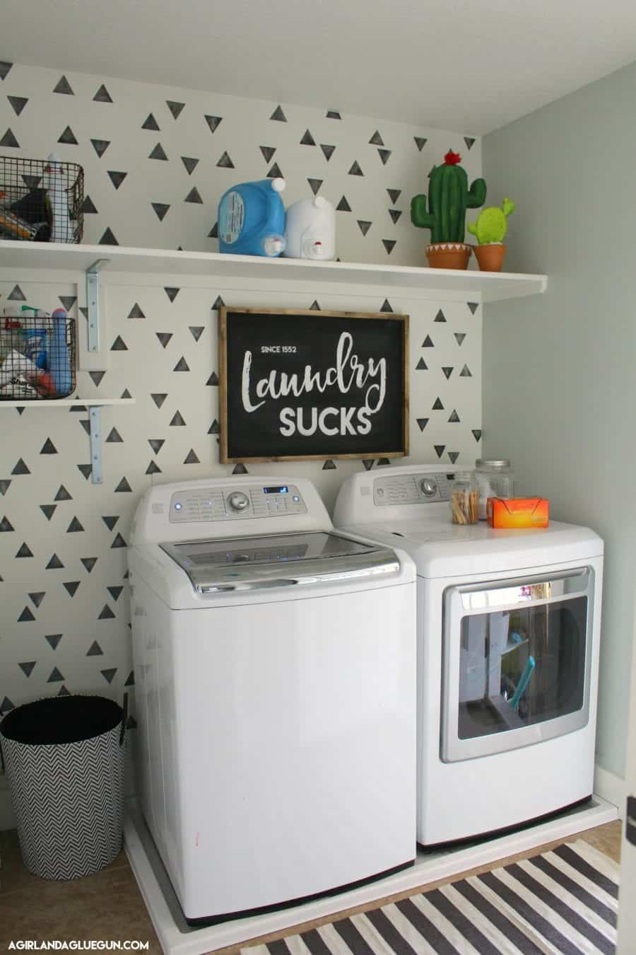 Vertical Laundry Sign Laundry Room Signs  A Girl And A Glue Gun