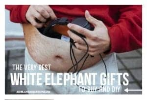 The Best white elephant gifts!