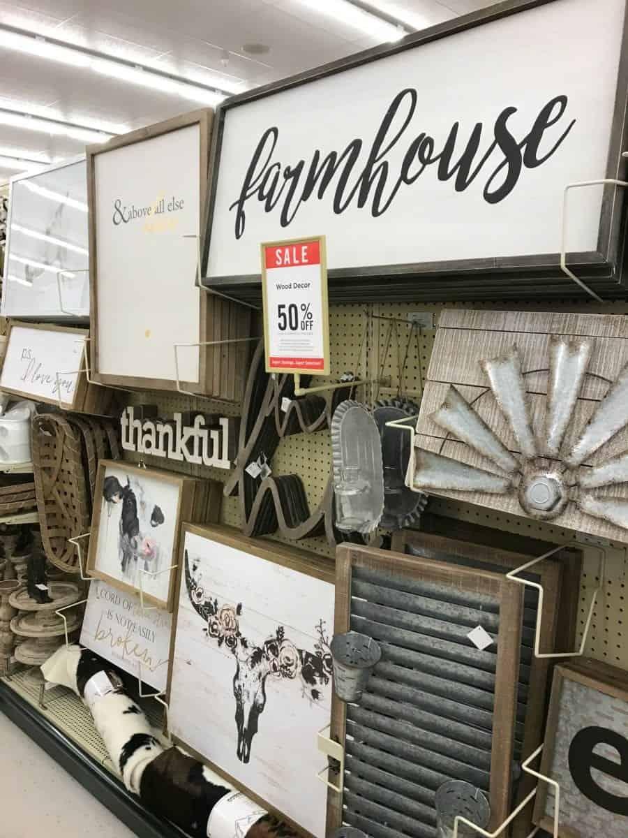 Hobby Lobby Farmhouse Furniture