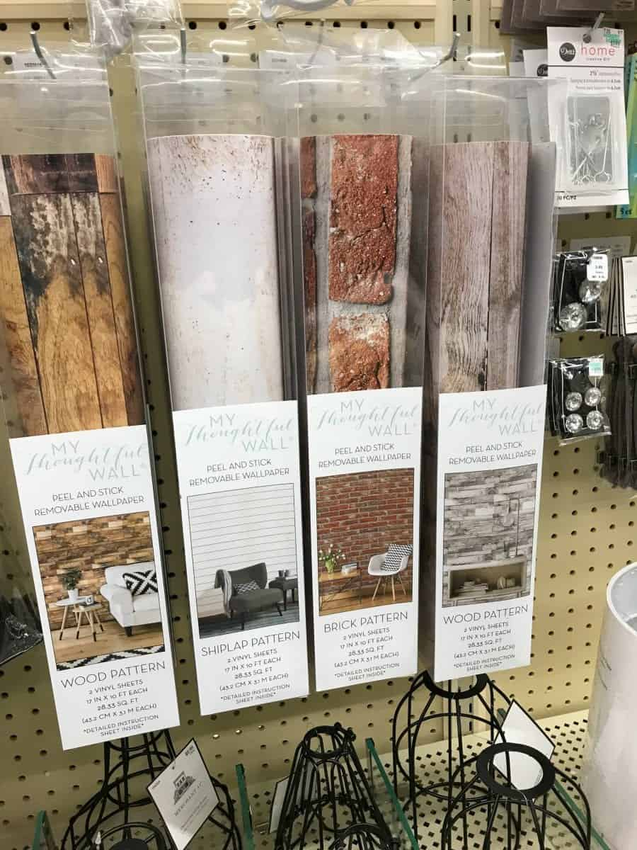 I also just ran into this last time i was hobby lobby they are for wallsbut if you put them on foam core board you could have some fun new backdrops