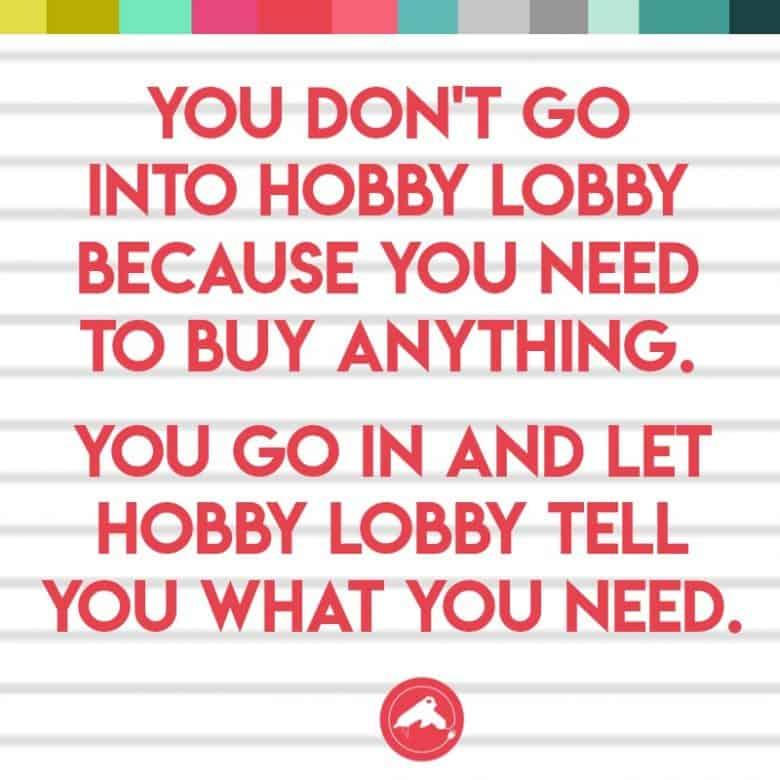 Hobbie Lobby Crafts