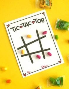 Tic Tac Valentine Printables