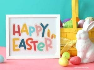 Happy Easter printable