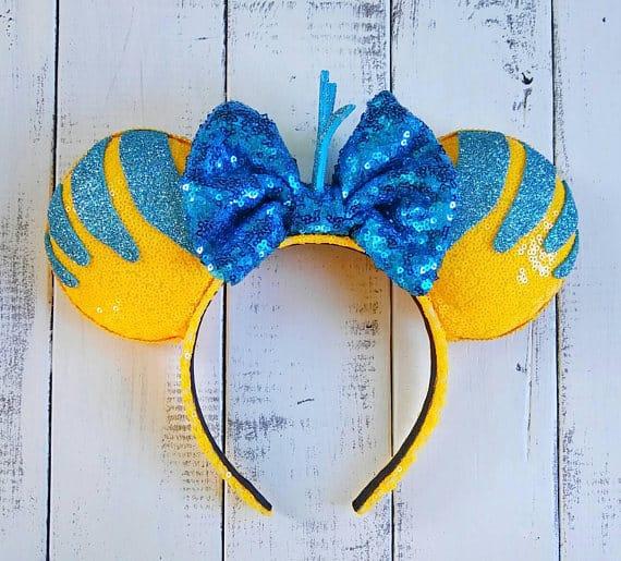 100 Mickey Mouse Ears A Girl And A Glue Gun