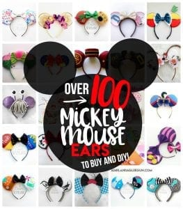 100 Mickey Mouse Ears