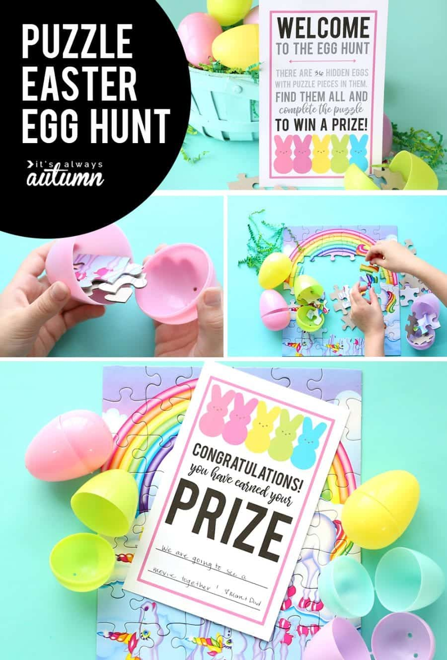 puzzle easter egg idea