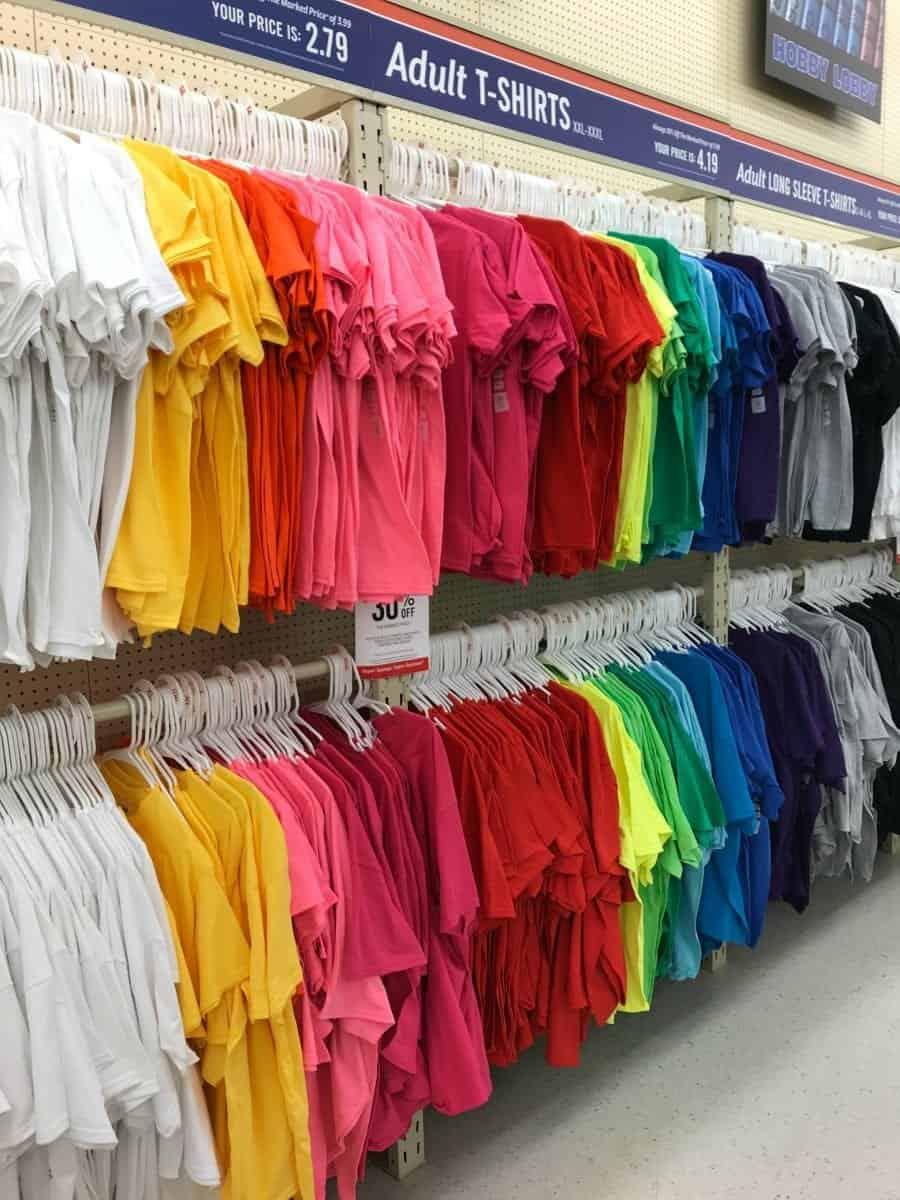 blanks vinyl hobby lobby shirt shirts things colors blank transfer heat items favorite even them adhesive too gun super soft