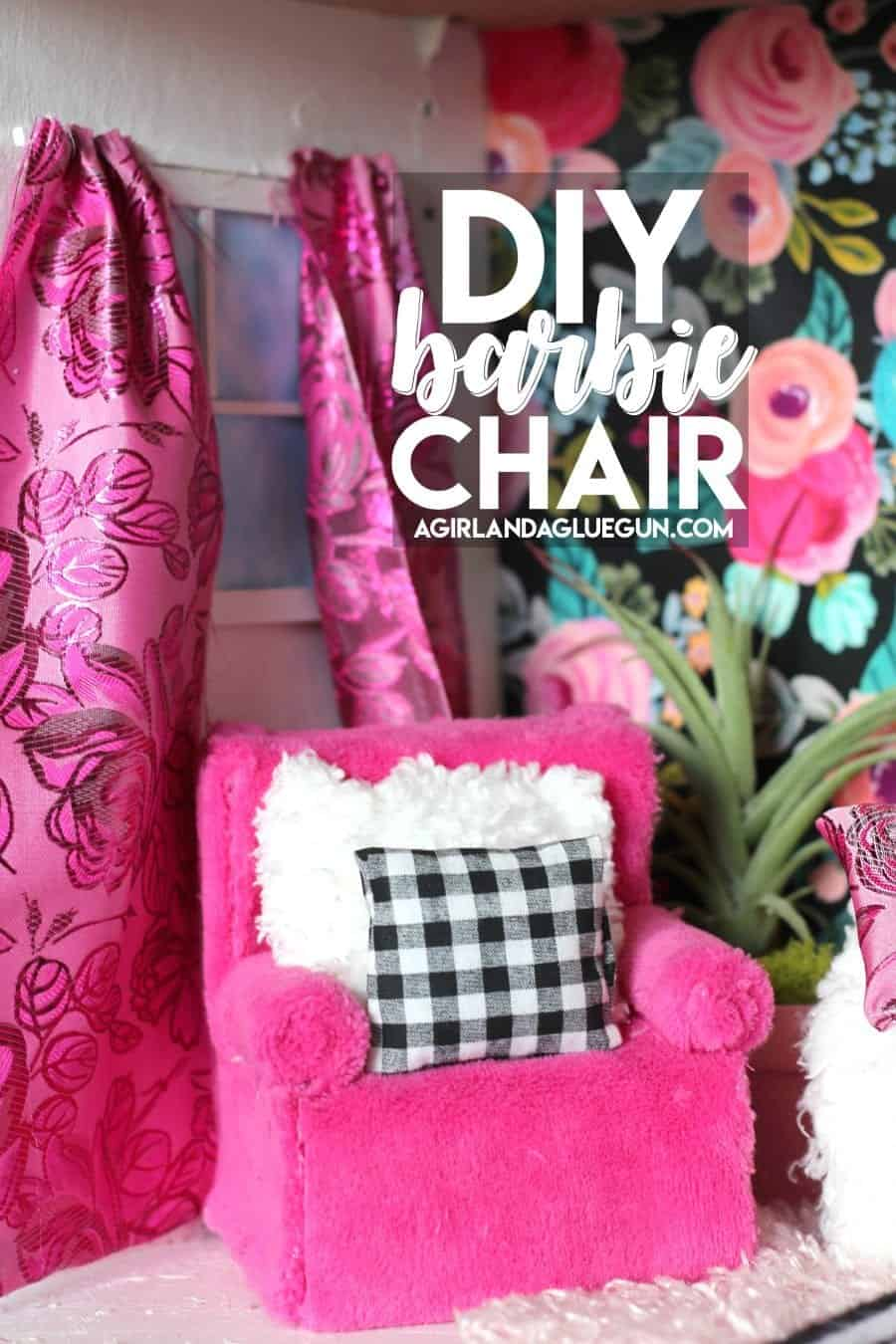 Barbie Bedroom In A Box: Barbie Couch And Chair DIY!