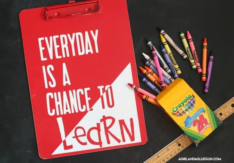Teacher Clipboards Gift Idea A Girl And A Glue Gun