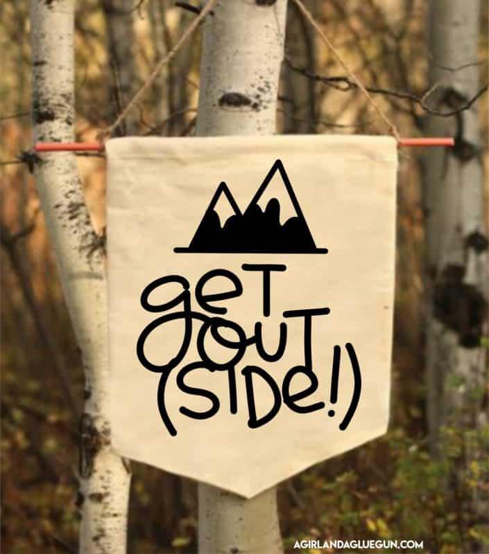 outdoors free svg cut file a girl and a glue gun