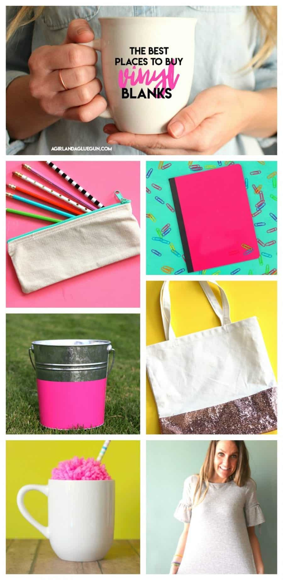 vinyl Blanks! What they are/where to buy them! - A girl and a glue gun