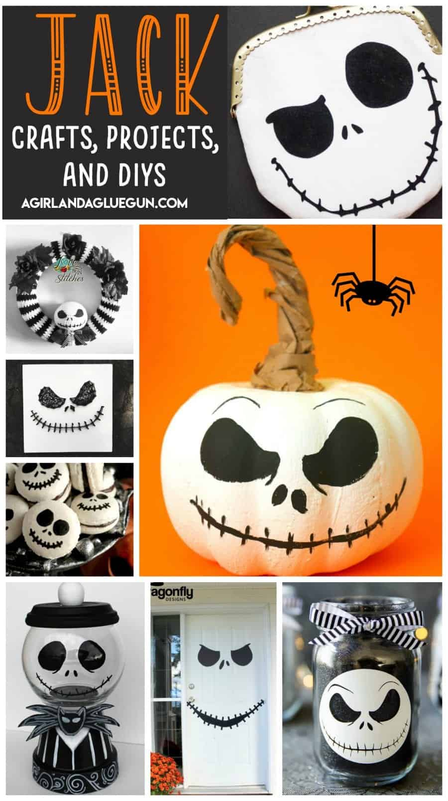 Jack Skellington projects and crafts - A girl and a glue gun