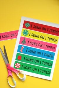 itunes gift card printables