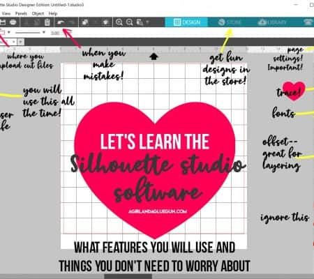let's learn the silhouette studio software! great beginners guide