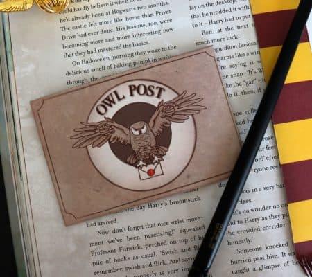Free Owl Post Printable