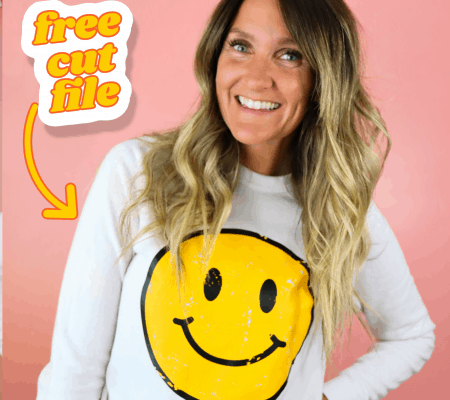 smiley face shirt free svg cut file (1)