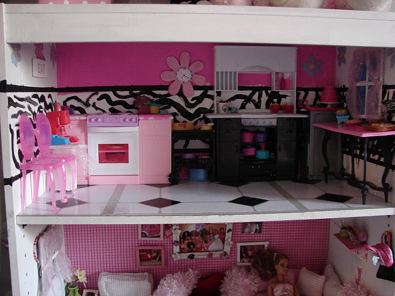DIY Barbie House From A Shelf A Girl And A Glue Gun Awesome Make Your Own Barbie Furniture Property