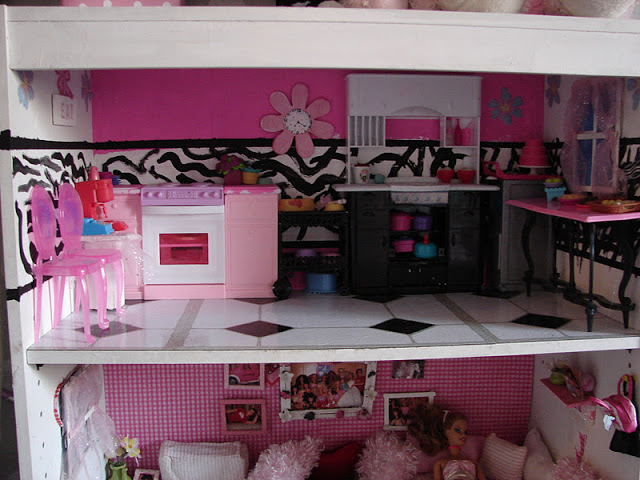 Make Your Own Barbie Furniture Property Gorgeous Diy Barbie House From A Shelf  A Girl And A Glue Gun Decorating Inspiration