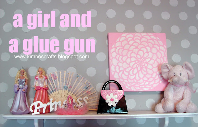 Paint A Girl And A Glue Gun