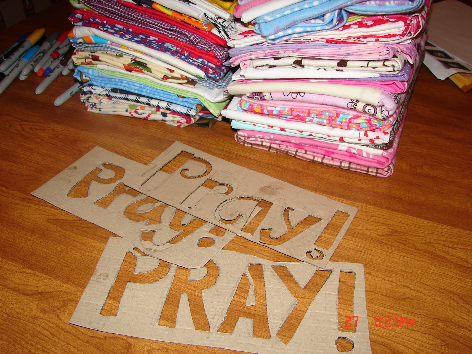 Prayer Pillowcases A Girl And A Glue Gun