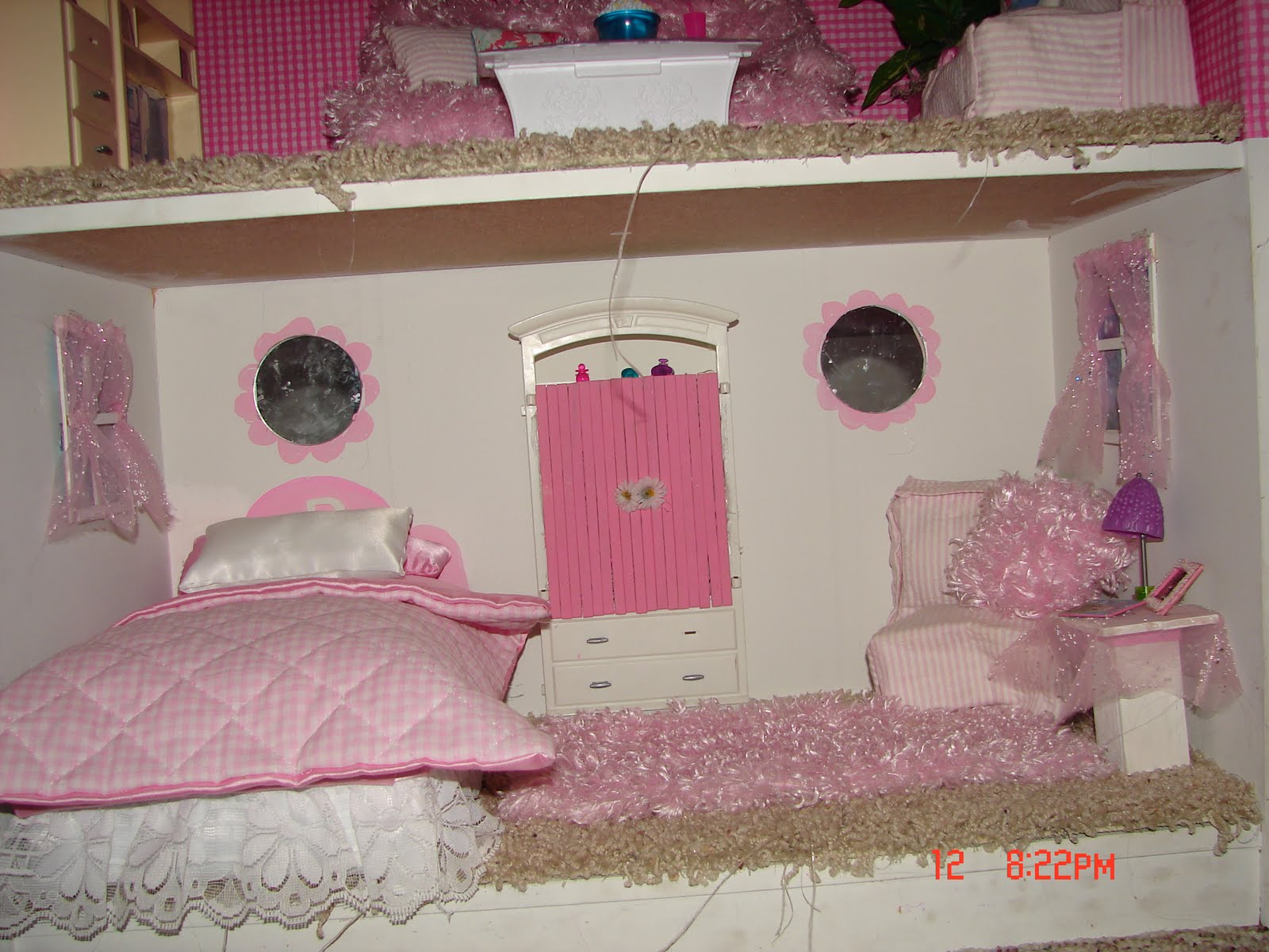 Make Your Own Barbie Furniture Property Awesome Diy Barbie House From A Shelf  A Girl And A Glue Gun Review