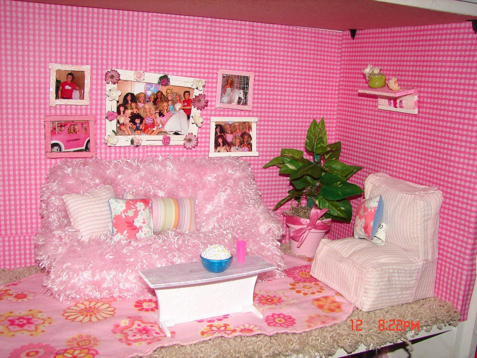 Как сделать комнату для одной барби