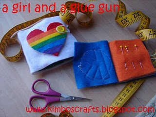 Sewing A Girl And A Glue Gun