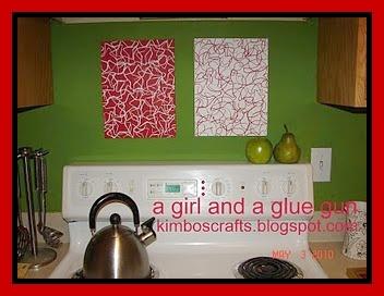 Paint A Girl And A Glue Gun